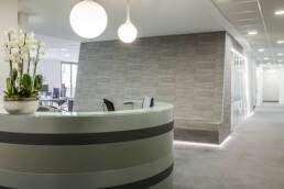 photographie architecture intérieure bureaux modernes